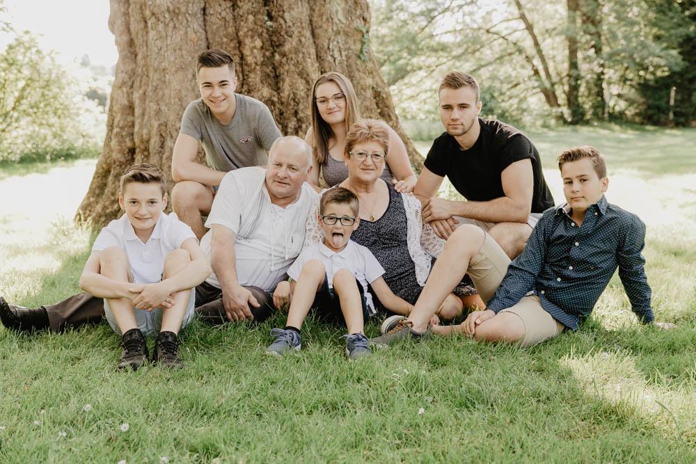 famille - plusieurs générations - séance photo - photographe eure et loir