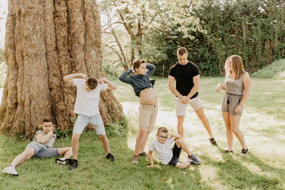 pluri générations - multi générations - photographe eure et loir - plusieurs familles