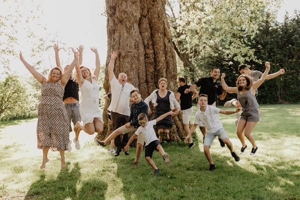 pluri générationnel - photographe eure - séance photo - famille - plusieurs familles