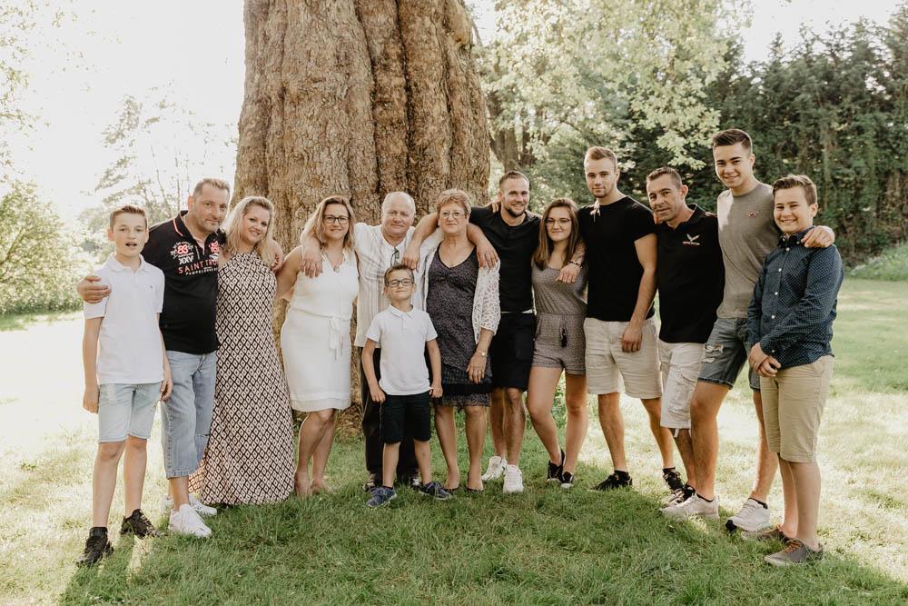 plusieurs générations - multi générationnel - photo en famille - photographe eure et loir - eure
