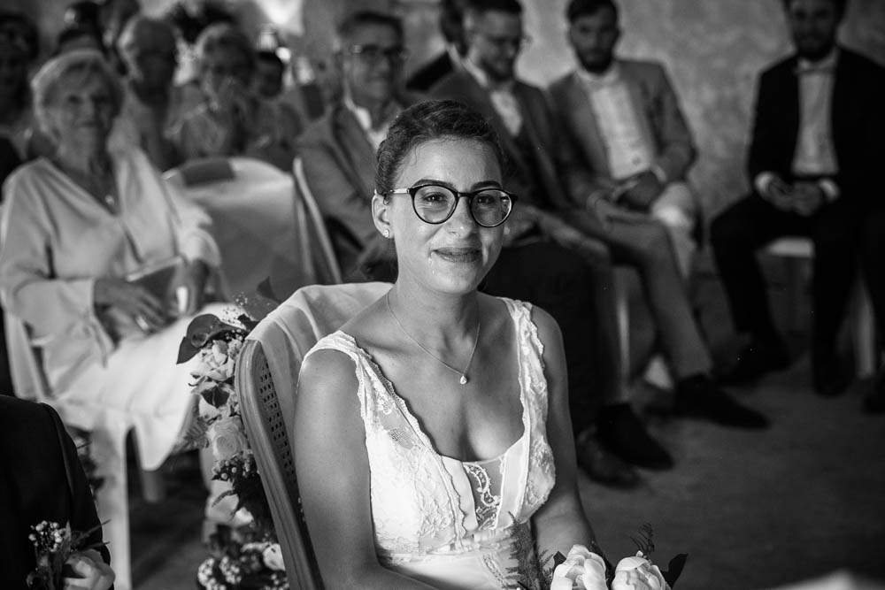 robe rembo styling - ceremonie laique - emotions - discours - photographe mariage - chartres