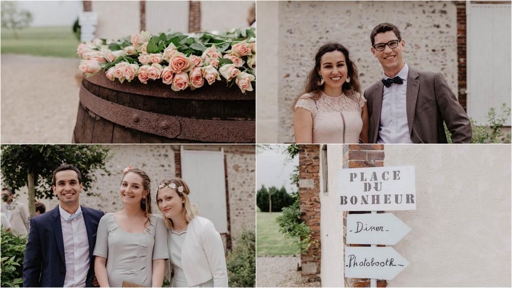 photobooth - mariage champetre - cocktail - photographe mariage eure et loir