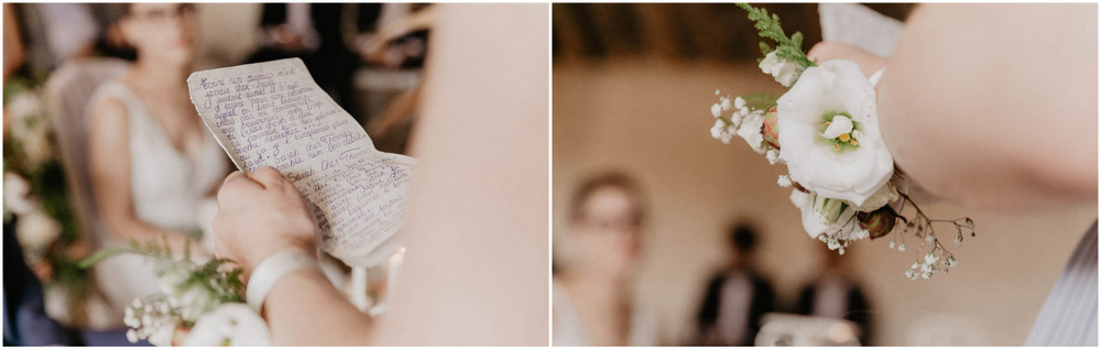 photographe mariage eure et loir - yvelines - fleurs - wood - discours - ceremonie laique - champetre