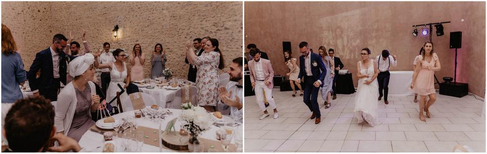 choregraphie des maries - entree des maries - soiree de mariage - eure et loir
