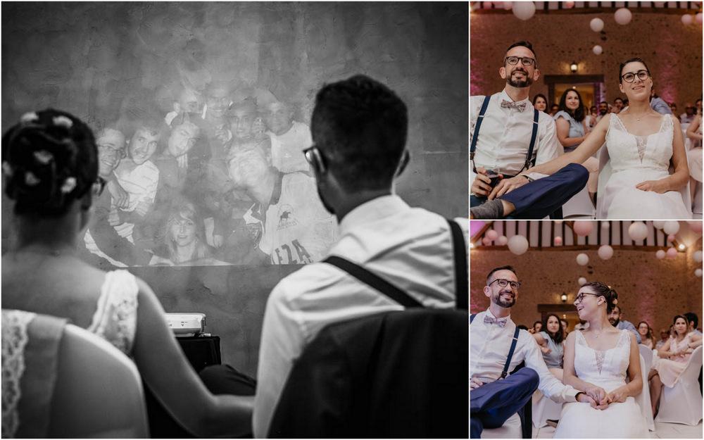retro projecteur - animation soiree mariage - photographe mariage - yvelines - eure et loir