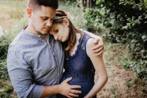 photographe grossesse eure et loir - chartres - maintenon - evreux - verneuil sur avre - golden hour - enceinte