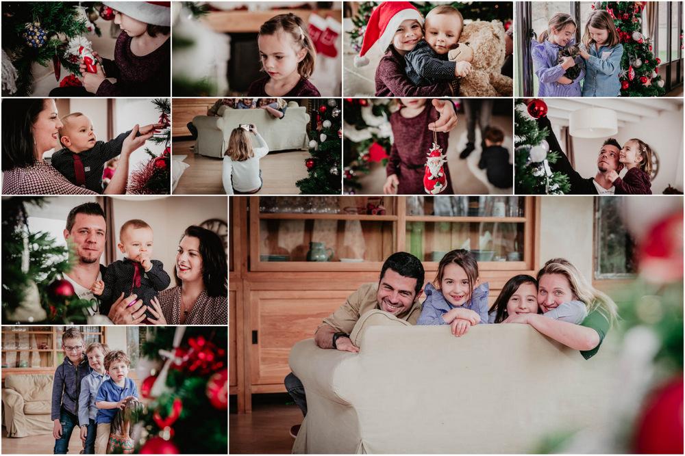 photographe famille - photos de famille - noel - cadeau - eure et loir - eure - orne - enfants - familles - amis