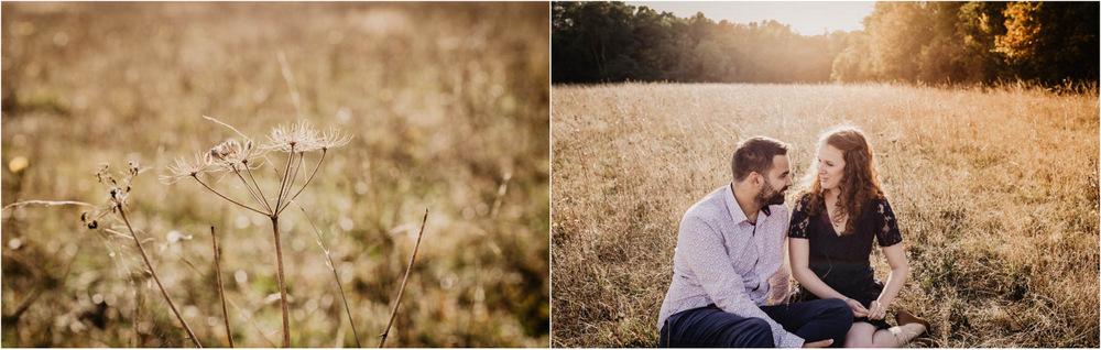 photographe mariage - coucher du soleil - verneuil sur avre - champetre - eure - center parcs - une seance engagement