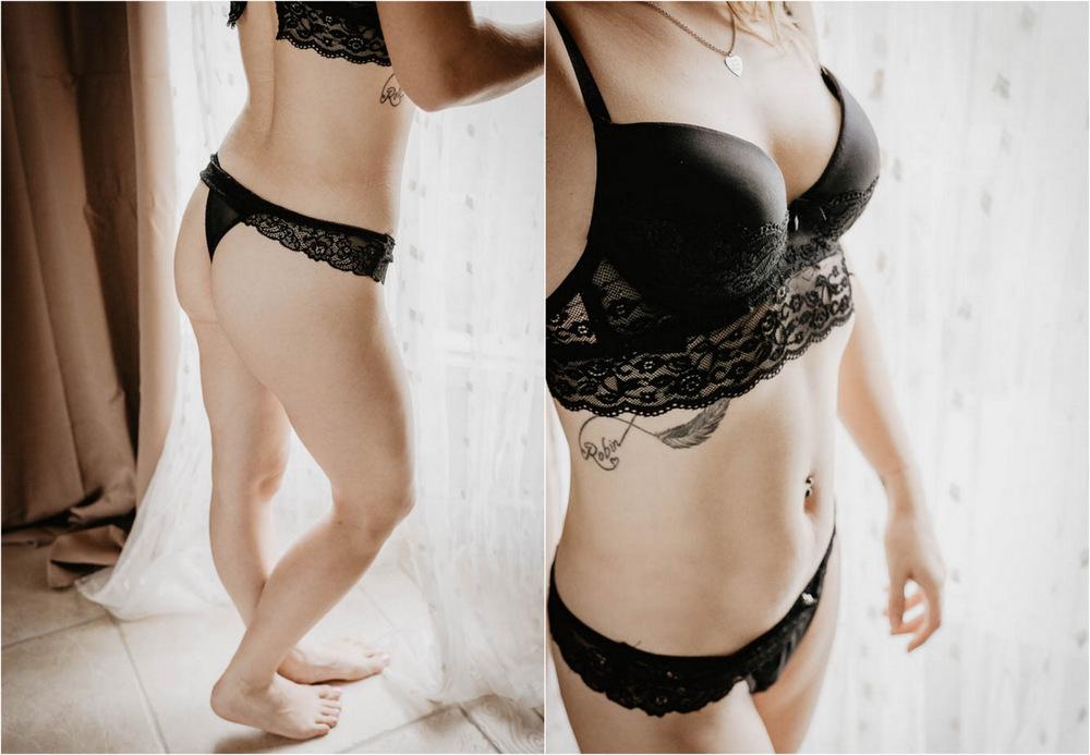 femme tatouee - en lingerie - photo sexy - sensualite - boudoir intime - sous vetement - eure et loir - photographe boudoir