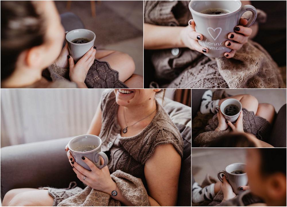 ambiance cocooning - tasse de café noir - plaid - cocon - bien au chaud - photographe 28