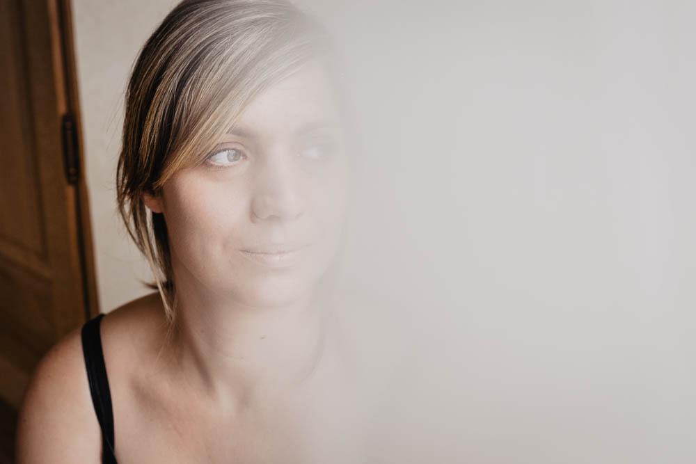 delicatesse - portrait de femme cocooning - chartres photographe - photographe boudoir