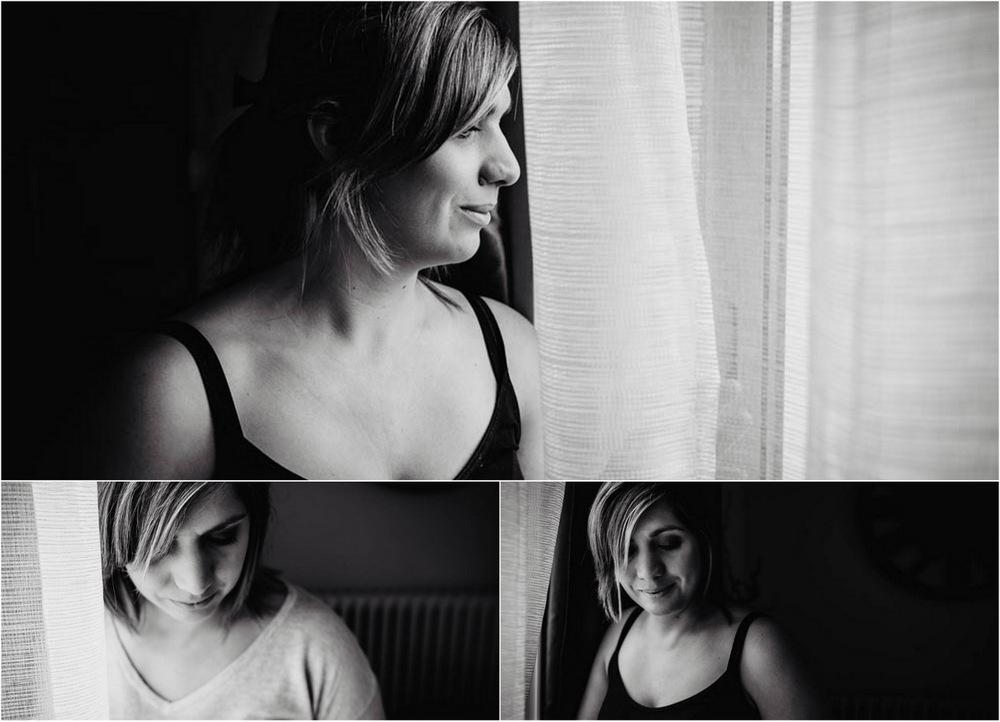 portrait de femmes en noir et blanc - photographe senonches - sensibilite - authenticite