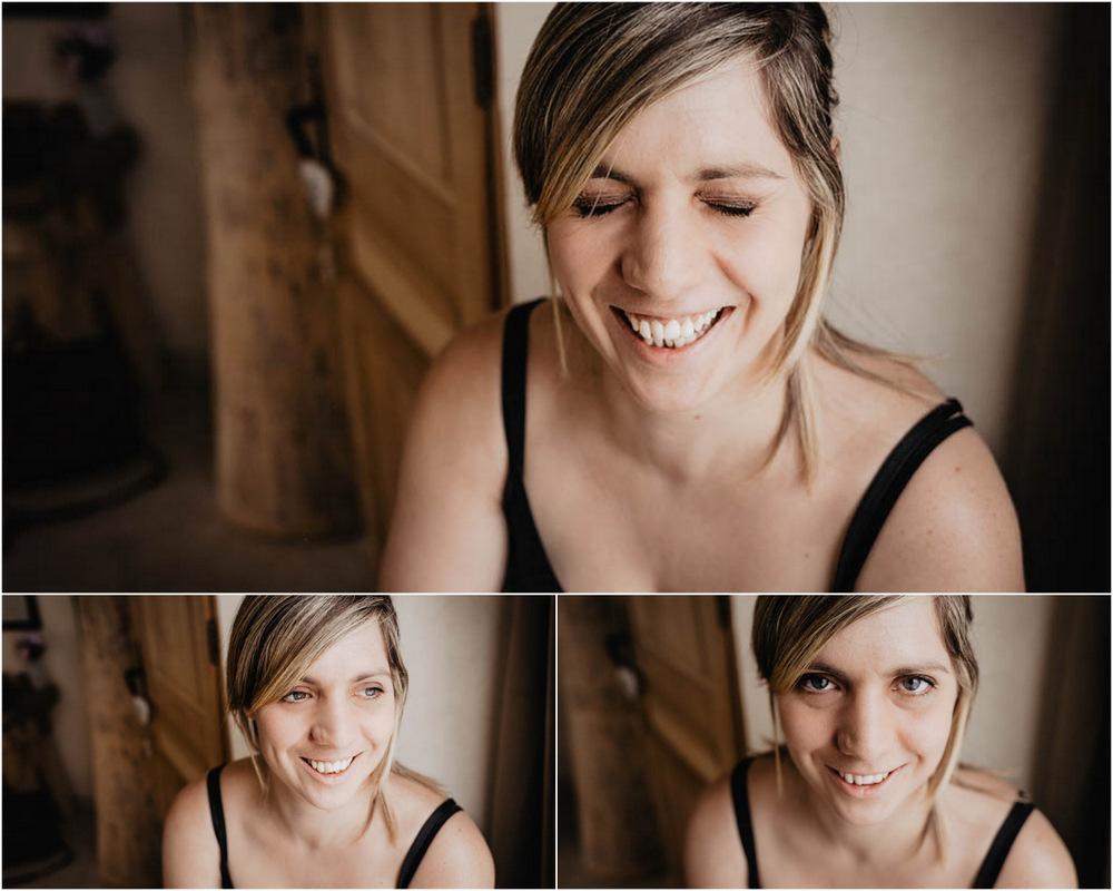 sourire - joie de vivre - bien etre - shooting photo - phototherapie - photographe intime - eure et loir