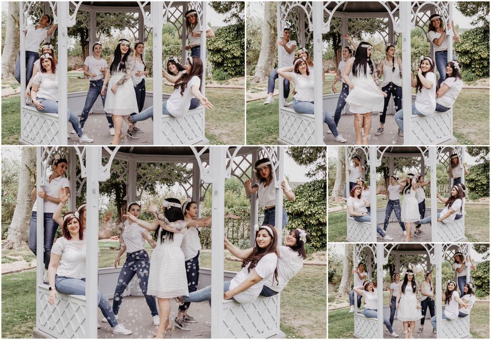 kiosque - filles qui dansent - evjf rambouillet - yvelines - eure et loir - chartres - bulles de savon