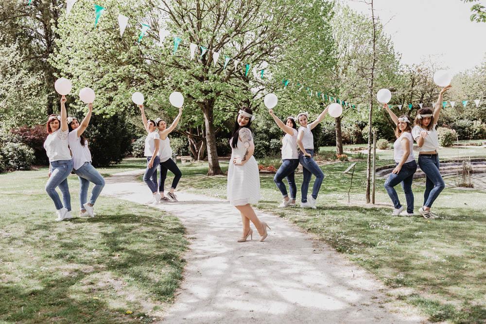 evjf fun et champetre - rambouillet - yvelines - chartres - photographe eure et loir - delires entre filles