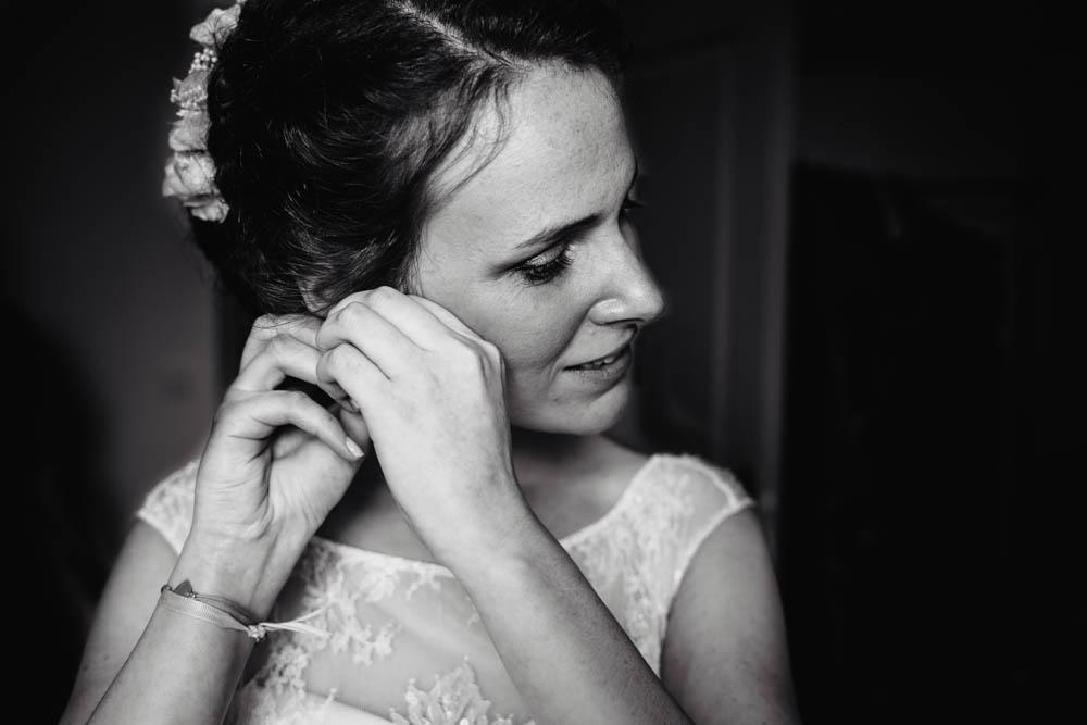 mariage au manoir de vacheresses - eure et loir - photographe de mariage - noir et blanc - yvelines - paris