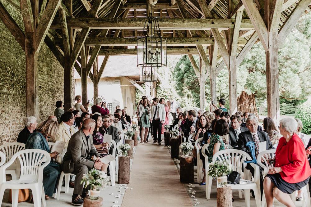 ceremonie laique - manoir de vacheresses - eure et loir - champetre - photographe mariages