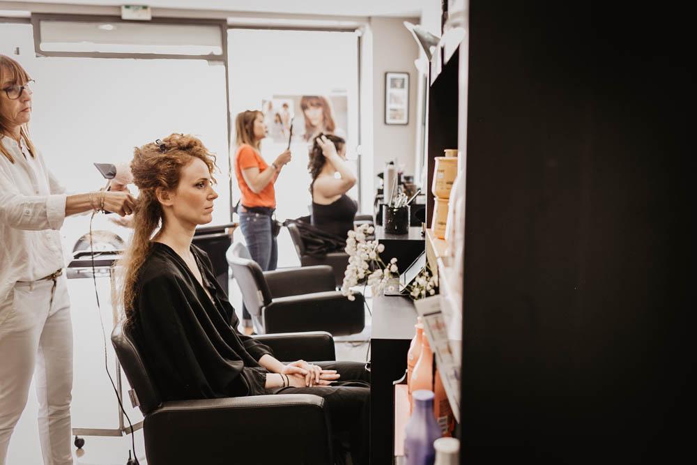 coiffure de la mariee - eure et loir - 28 - chartres mariage - photographe nogent - 27