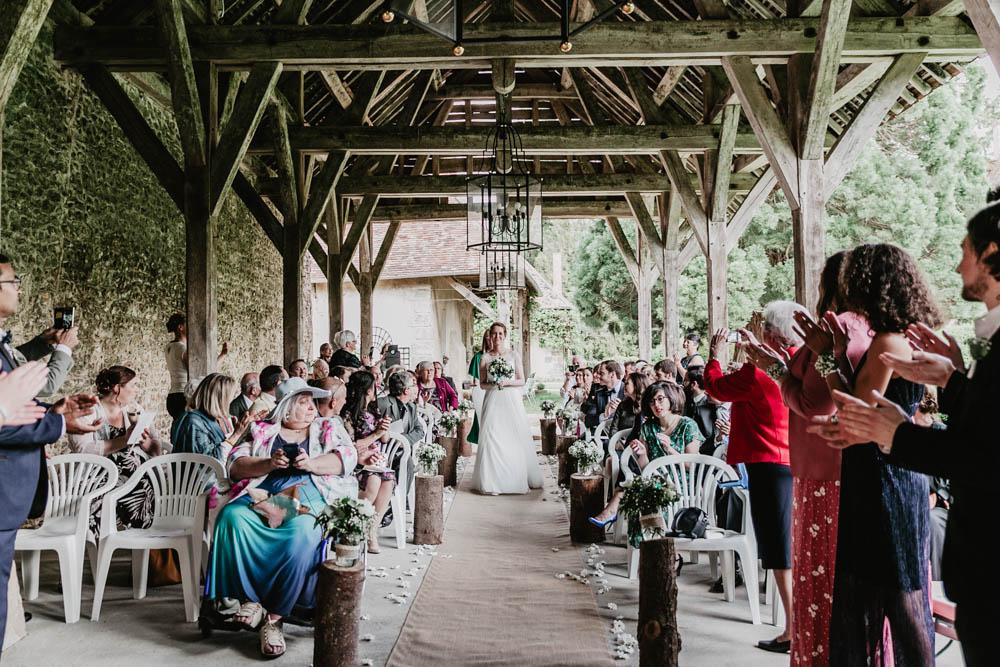 ceremonie laique - manoir de vacheresses - photographe eure et loir - mariage champetre