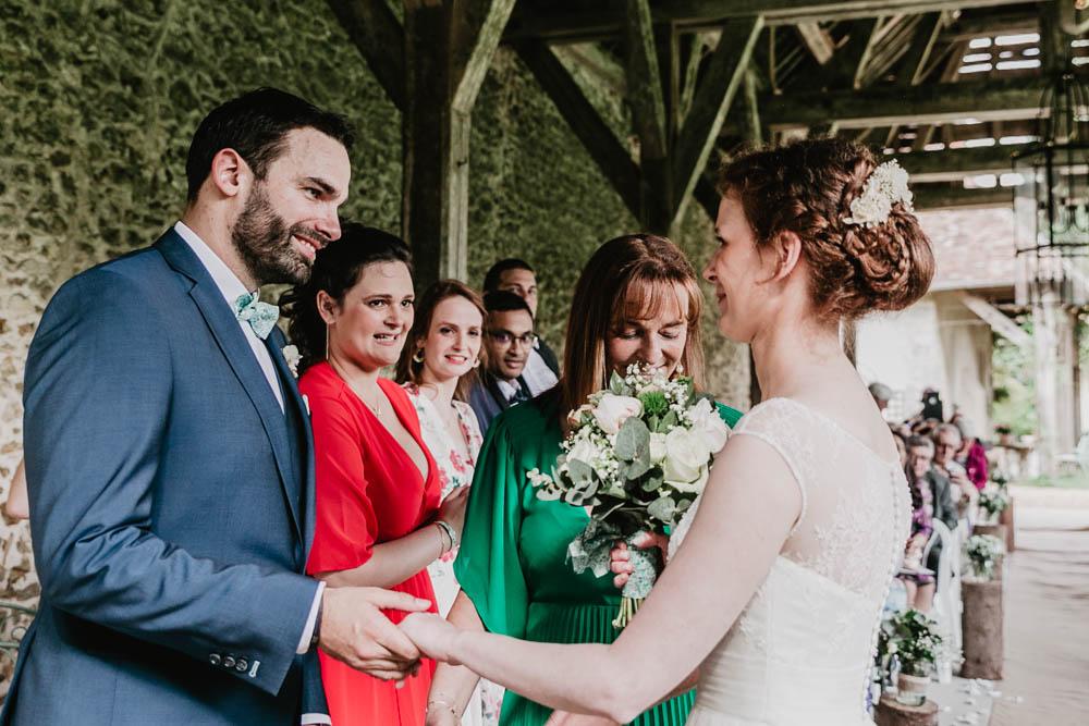 ceremonie laique - photographe de mariages champetres chartres - eure et loir - manoir