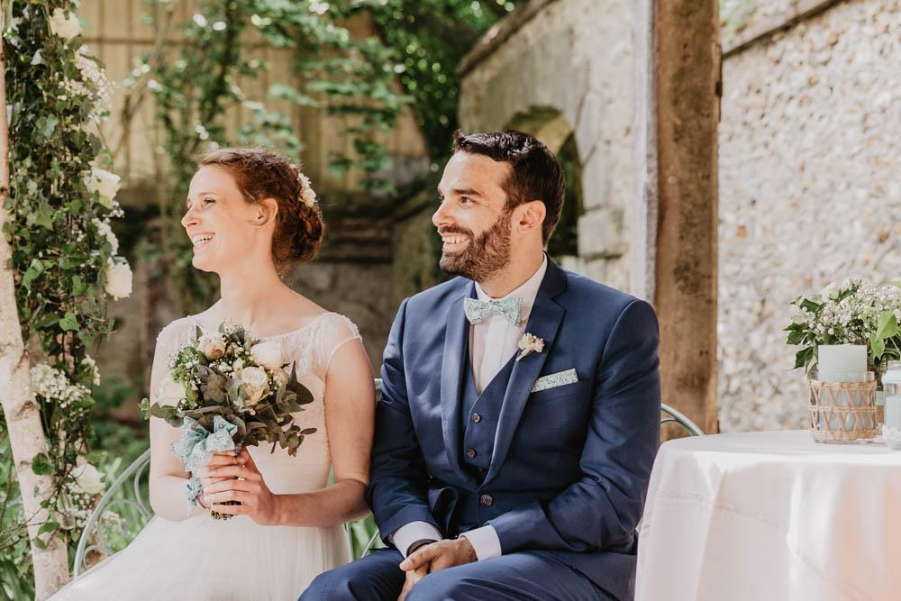photographe mariage en eure et loir - chartres - yvelines - ceremonie laique - mariage champetre - manoir de vacheresses