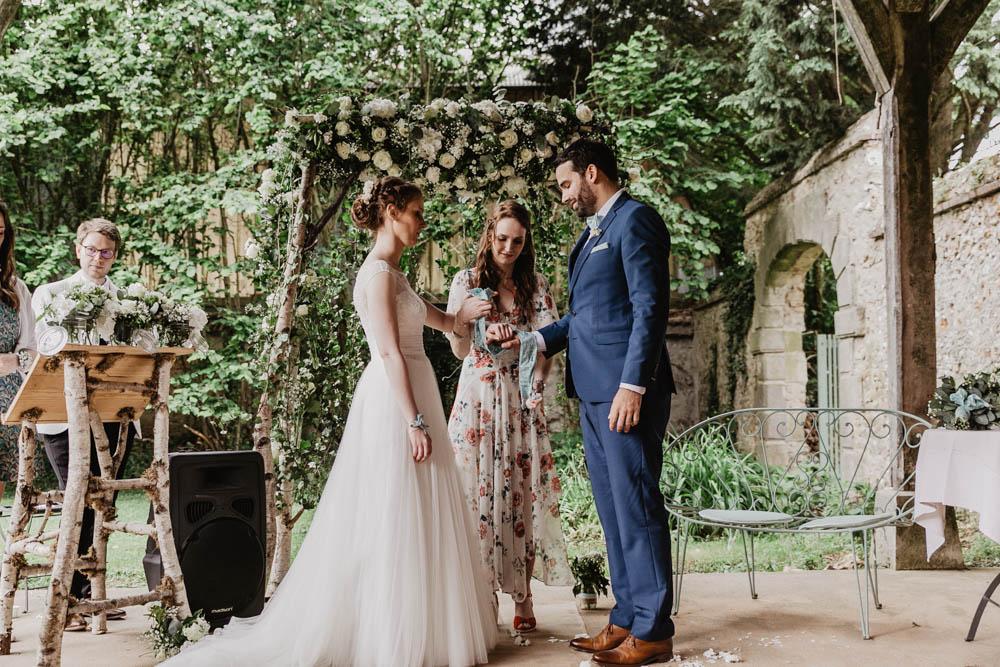 manoir de vacheresses - ceremonie laique - fleurs naturelles - photographe mariages rambouillet - chartres - evreux