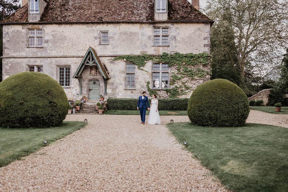manoir de vacheresses - mariage champetre - photos de couple - photographe eure et loir - chartres - rambouillet