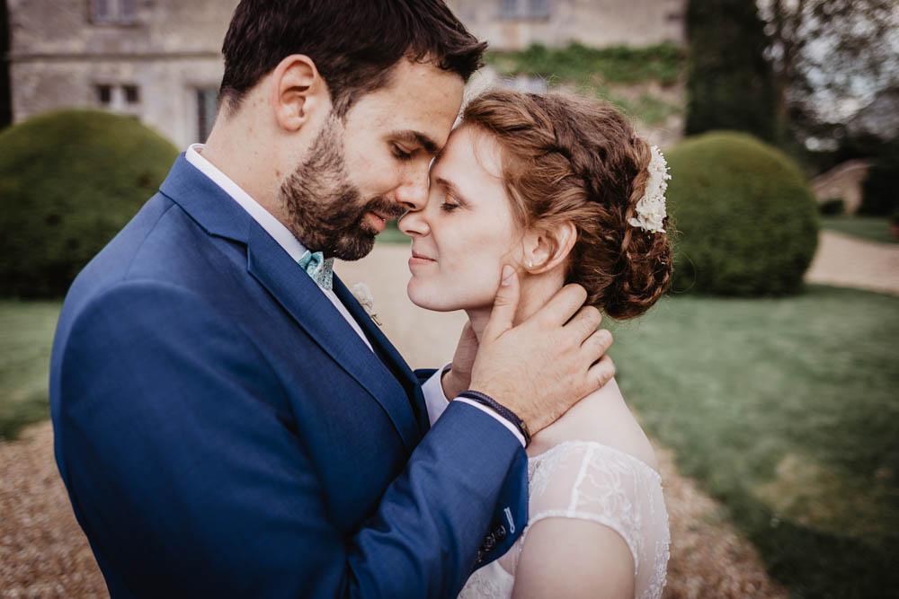 amoureux - jeunes maries - photo de couple - mariage au manoir de vacheresses - photographe mariahe eure et loir - chartres - yvelines