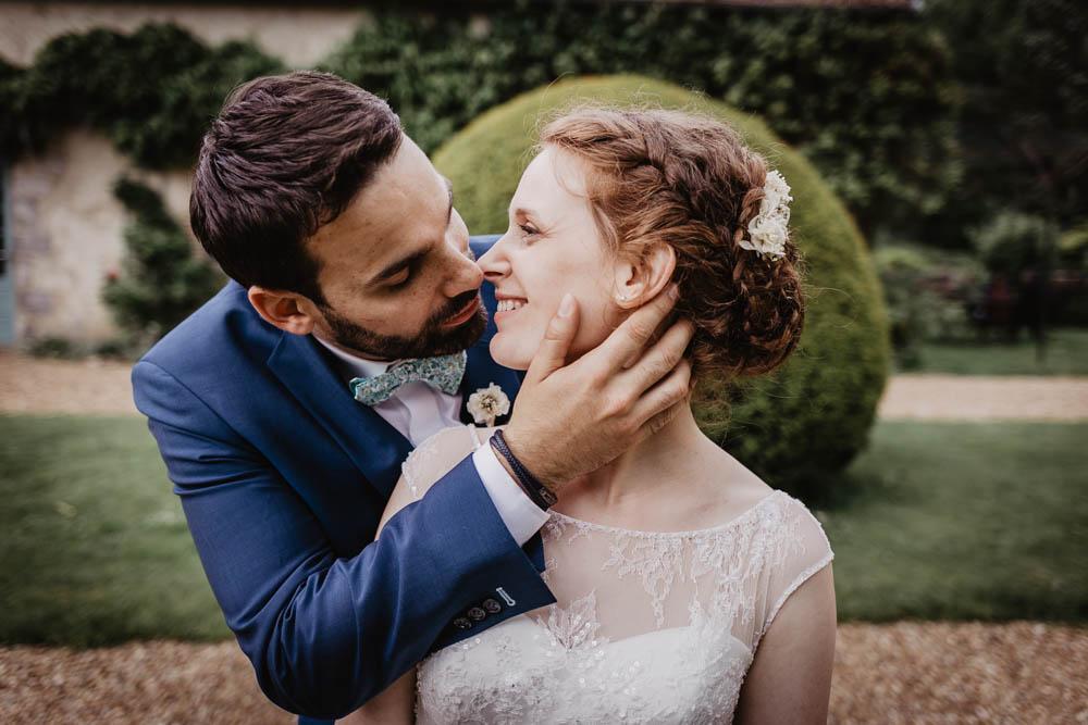 photo de couple - jeunes maries - manoir de vacheresses - photographe chartres - rambouillet - yvelines - eure et loir - orne