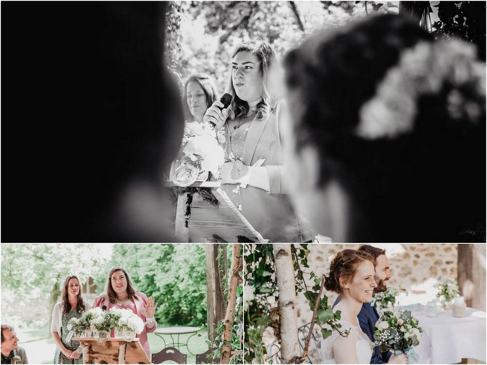 discours des temoins - ceremonie laique - champetre - floral - manoir de vacheresses - photographe 78 mariage
