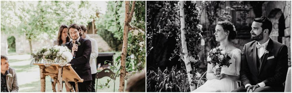 ceremonie laique - florale - manoir - eure et loir - photographe de mariages yvelines