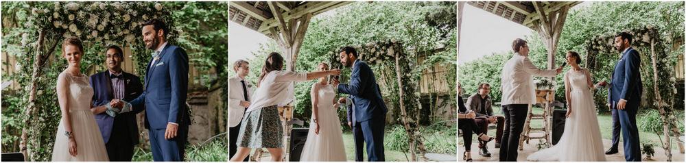 echange des consentements - ceremonie laique - photographe mariage eure et loir - manoir de vacheresses - champetre