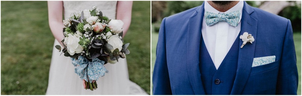 photos de couple - maries - bouquet de la mariee - boutonniere du marie - photographe eure et loir