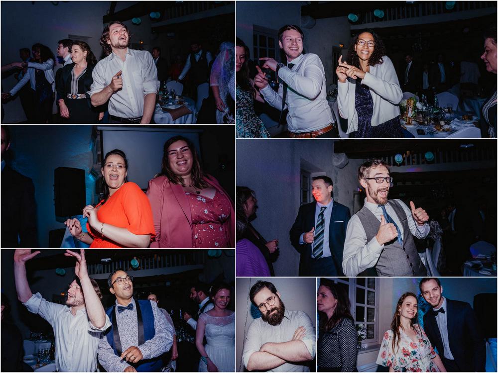dancefloor - show - on se lache - on met le feu - soiree de mariage - photographe eure et loir - chartres