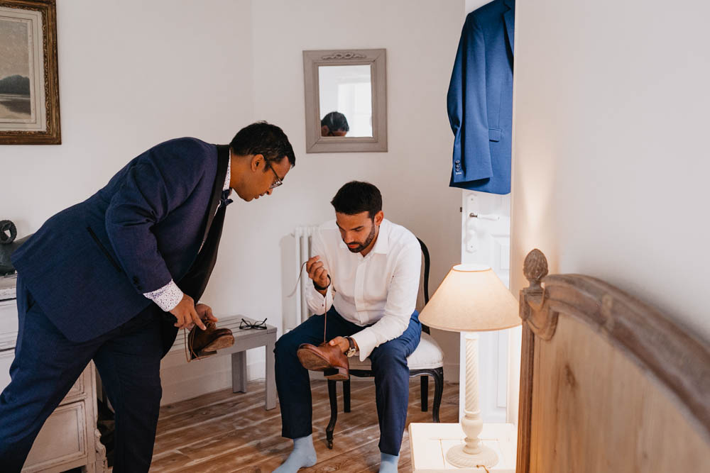 preparatifs du marie - cosutme du marie - chaussures du marie - temoin du marie - clos st laurent - eure et loir