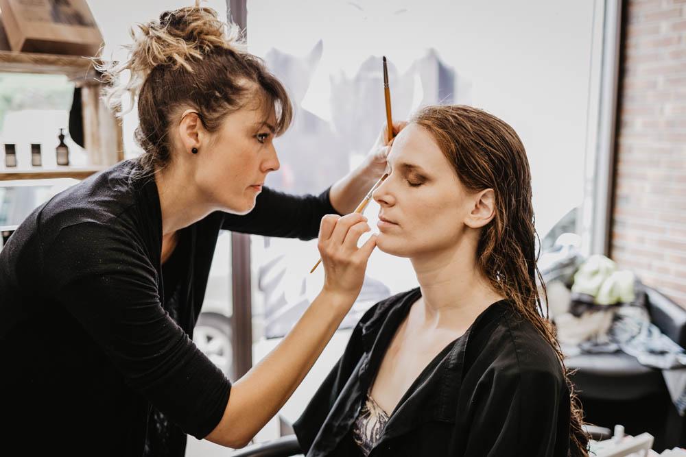 maquillage de mariee - photographe de mariage eure - verneuil sur avre - orne