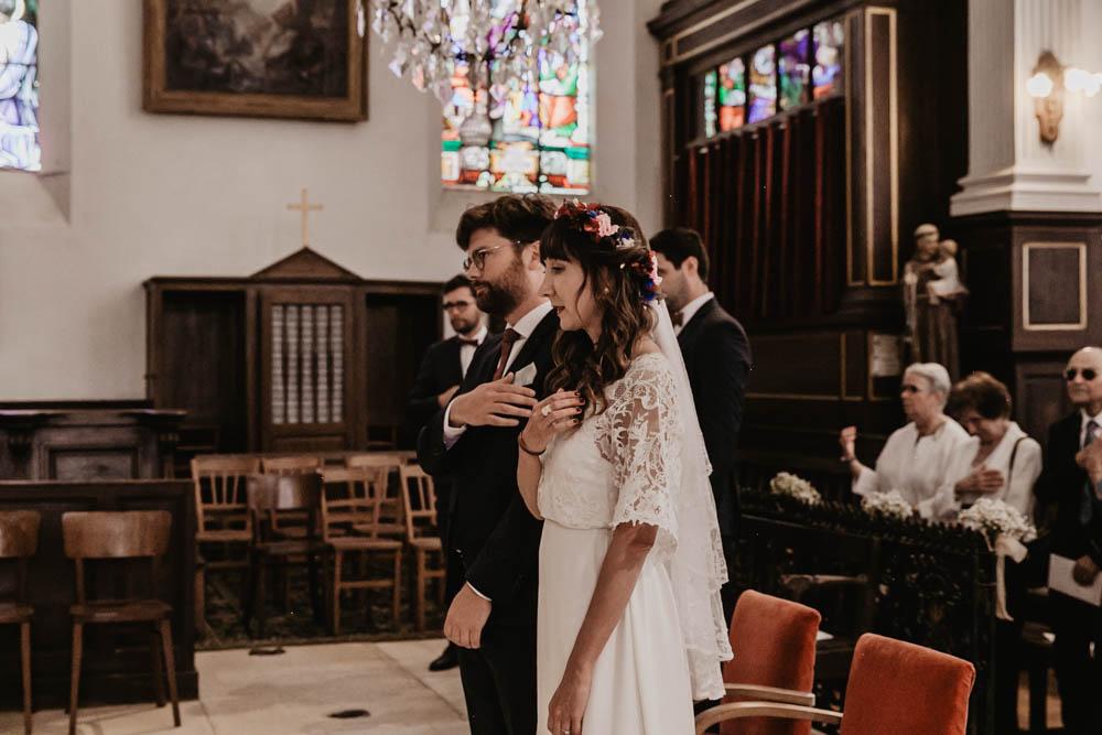signe de croix - mariage religieux - eglise de la ferte vidame - photographe mariage - photographe verneuil sur avre - eure et loir - chartres