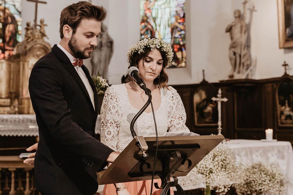 discours des temoins - eglise - mariage religieux - photographe eure et loir - chartres - evreux - verneuil sur avre