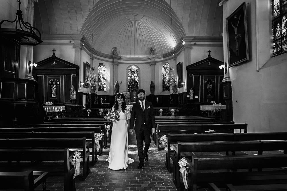 noir&blanc - eglise st nicolas - ferte vidame - mariage religieux - photographe verneuil sur avre - chartres - eure et loir - perche - evreux