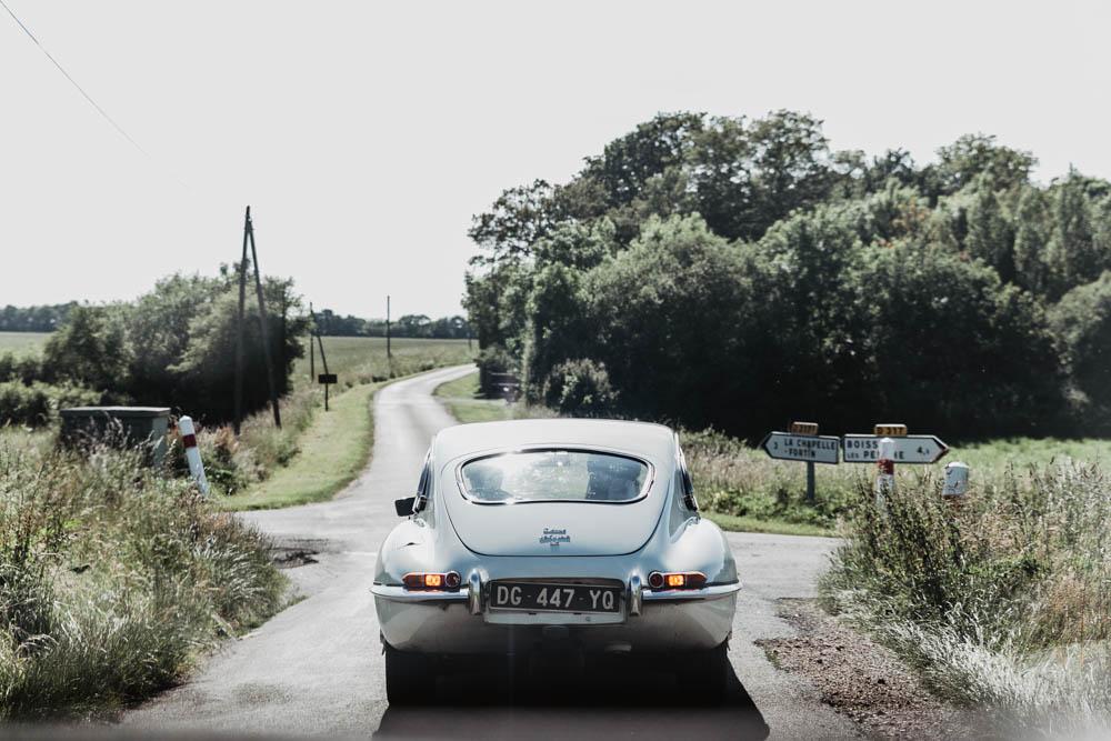 domaine des evis - la chapelle fortin - campagne - jaguar type E - eure et loir - perche - photographe evreux - chartres