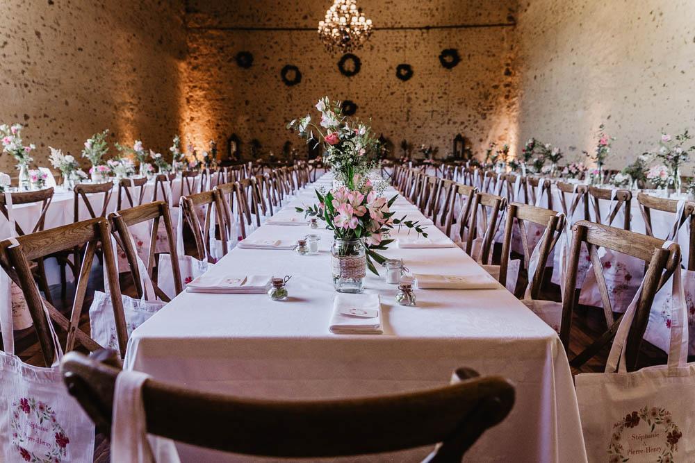 domaine des evis - chaises en bois - mariage champetre - boheme chic - photographe eure et loir - perche - orne - ferte vidame
