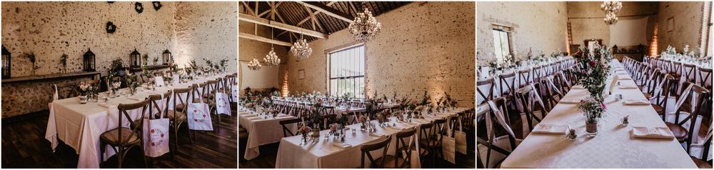 domaine des evis - lieu de reception pour mariage - photographe mariage - dans le perche - rustique - grande salle de soiree
