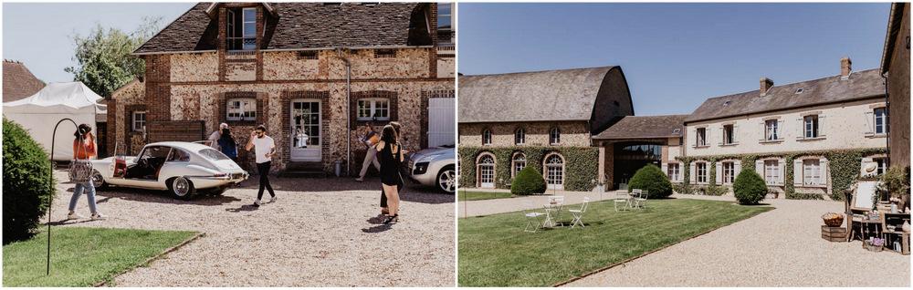 domaine des evis - photographe mariage - ferte vidame - eure et loir - orne - perche - jaguar type E