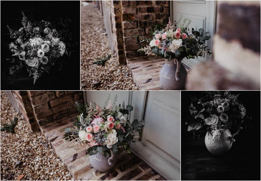 bouquet de la mariee - couleurs pastels - poudrees - rose - photographe mariage - domaine des evis - perche - eure et loir - evreux - verneuil sur avre