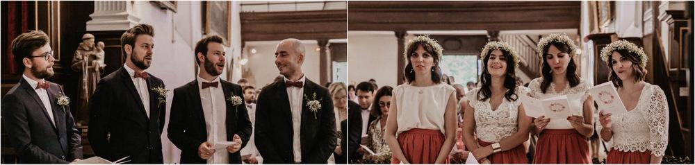 temoins - fleurs - mariage religieux - ceremonie a l eglise de la ferte vidame - photographe verneuil sur avre - chartres eure et loir - perche