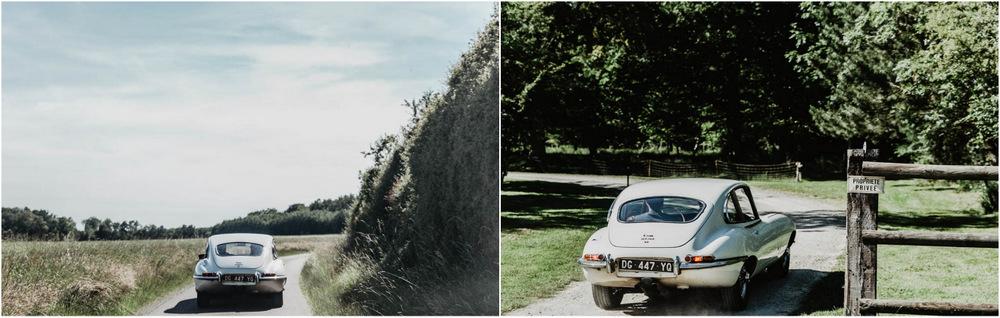 jaguar type E - domaine des evis - la chapelle fortin - photographe eure et loir - verneuil sur avre - evreux - chartres - dans le perche