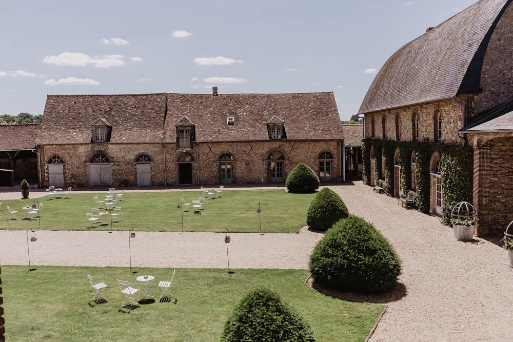 domaine des evis - cour de reception - lieu de cocktail - photographe mariage - ferte vidame - verneuil sur avre - evreux - chartres