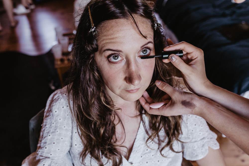 mariage champetre chic - boheme - maquillage naturel - photographe mariage - domaine des evis - eure et loir - orne - verneuil sur avre - chartres
