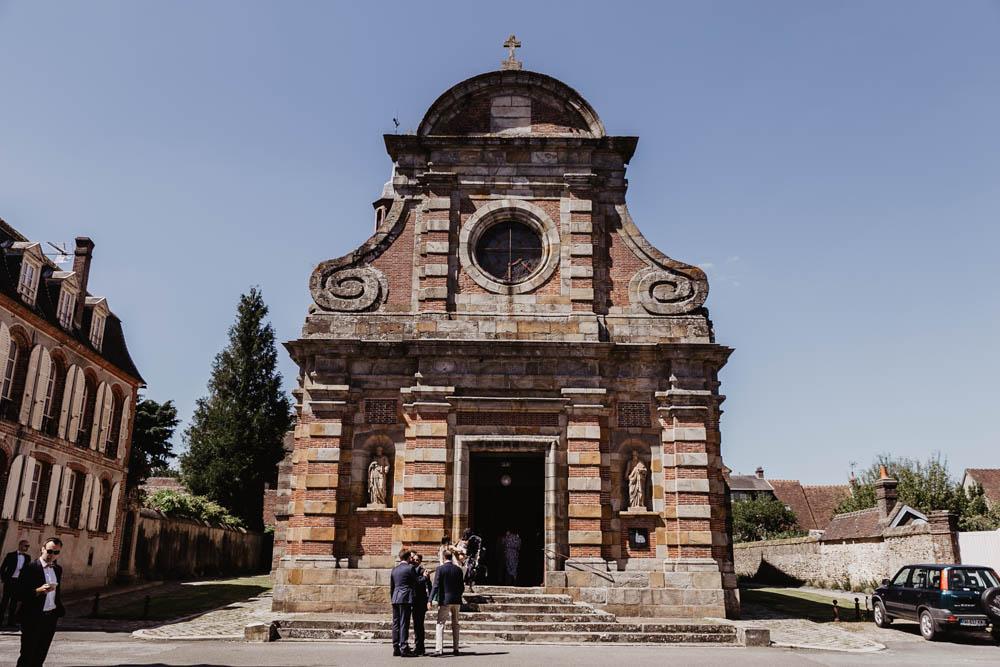 eglise saint nicolas de la ferte vidame - mariage religieux - eure et loir - perche - photographe verneuil sur avre
