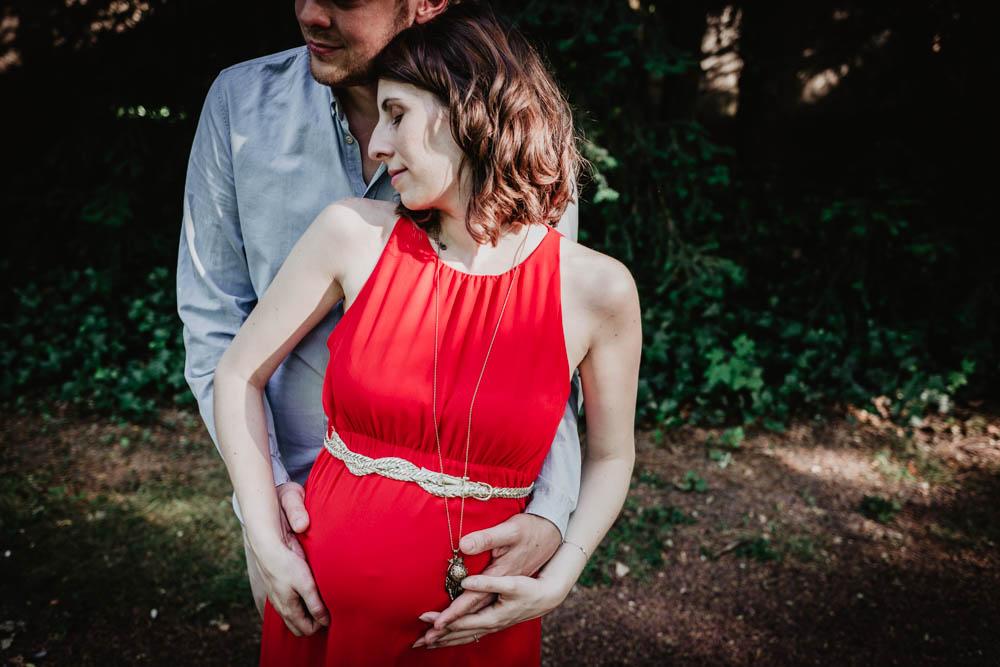 shooting photo chartres - grossesse - photographe eure et loir - evreux - orne - bidon rond